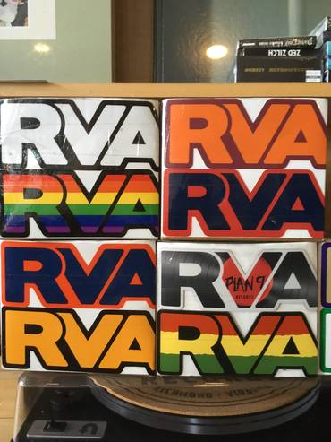 RVA magnets/stickers