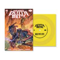 Denzel Curry/PlayThatBoiZay - Bad Luck (DC - Dark Nights: Death Metal Version) [Indie Exclusive Limited Edition Yellow 7in Flexi Disc + Comic]