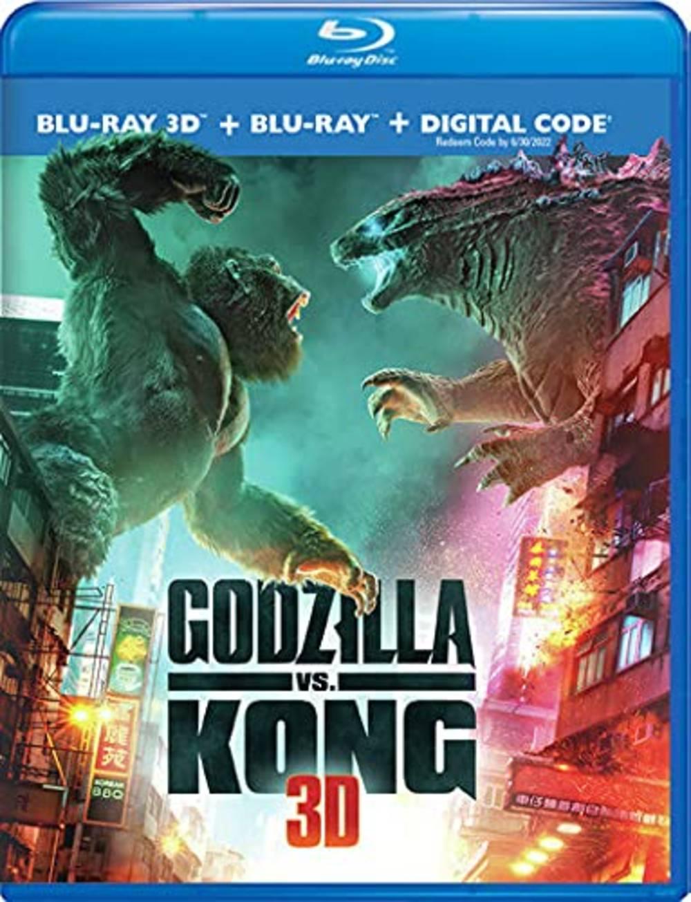 Godzilla [Movie] - Godzilla vs. Kong [3D]