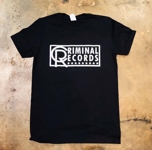 - CR Unisex Large T-Shirt - Black + White Logo