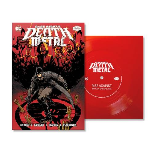 Rise Against - Broken Dreams, Inc. (DC - Dark Nights: Death Metal Version) [Indie Exclusive Limited Edition Red 7in Flexi Disc + Comic]