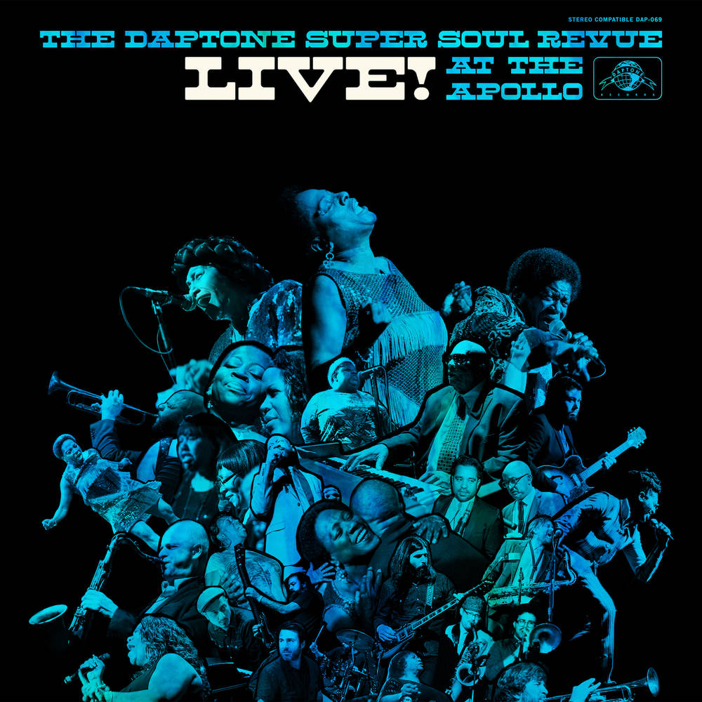 Various Artists - The Daptone Super Soul Revue Live! At the Apollo [Limited Edition Translucent Tie-Eye Teal 3LP]