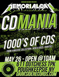 Memorial Day CD Mania this Saturday!