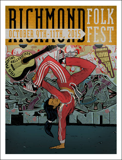 2015 Richmond Folk Festival Poster [Limited Edition]
