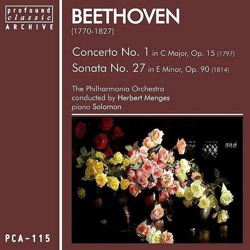 Beethoven: Concerto No. 1 In C Major, Op. 15 & Sonata No. 27 In E Minor, Op. 90