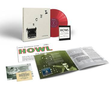 ...Reads Howl & Other Poems [Deluxe Translucent Red LP Box Set]