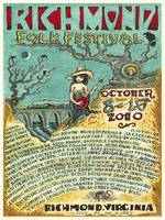 2010 Richmond Folk Festival Poster