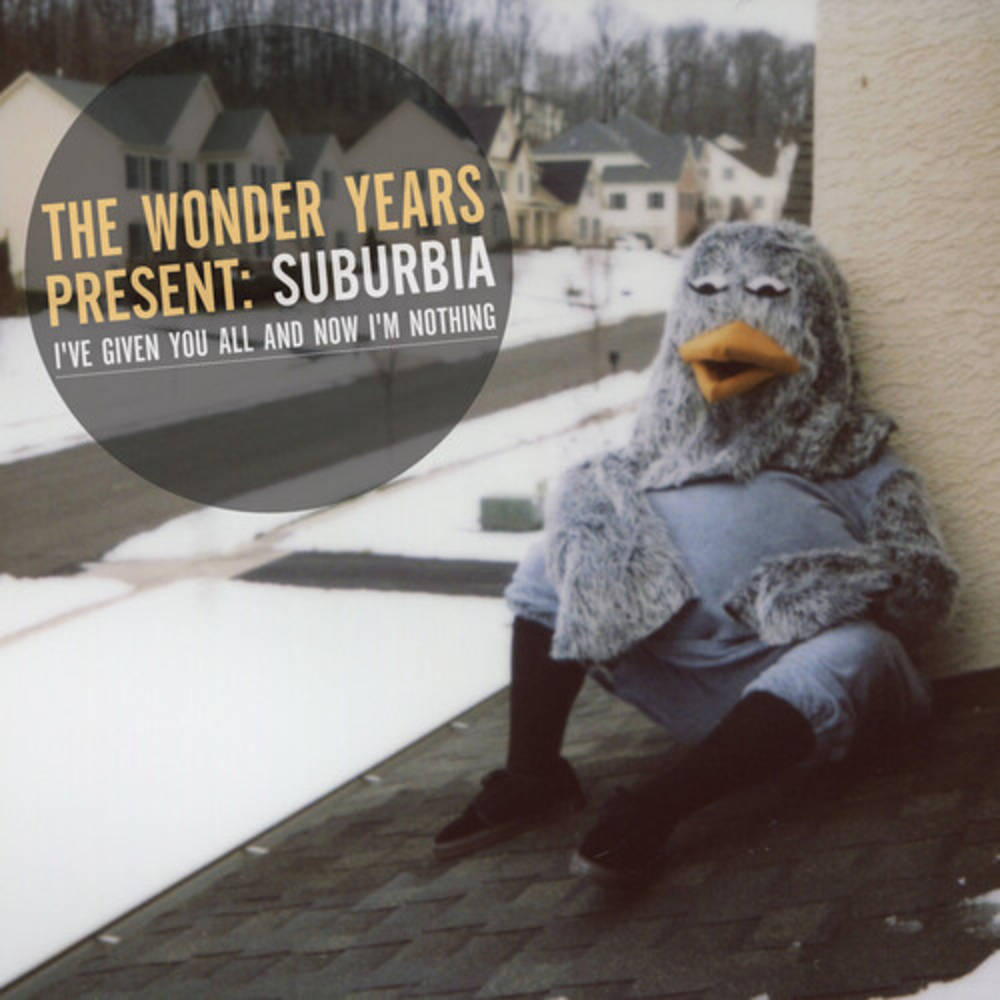 The Wonder Years - Suburbia I've Given You All and Now I'm Nothing [Limited Edition Translucent Orange LP]