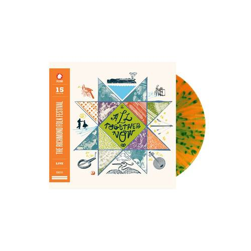 All Together Now: 15 Years of The Richmond Folk Festival Live [Limited Edition Orange and Green Tie-Dye LP]