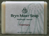 Natural Handmade Rosemary Soap - Bryn Mawr Soap