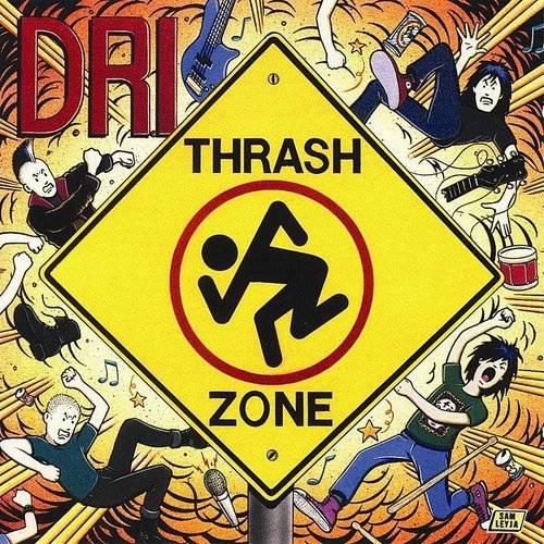 D.R.I. - Thrash Zone [Limited Edition Yellow LP]