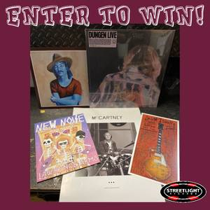 ENTER TO WIN Musically Diverse Prize Package!
