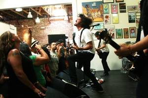 Dave Grohl at Fingerprints on RSD 2011. Photo by Laura O'Neill