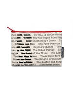 Out Of Print Tees - BANNED BOOKS POUCH