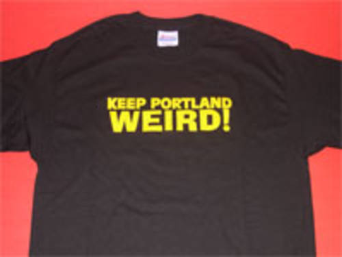 Keep Portland Weird T-Shirt (medium)