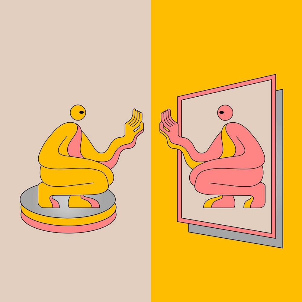 DJ Seinfeld - Mirrors [Indie Exclusive Limited Edition Pink / Yellow 2LP]