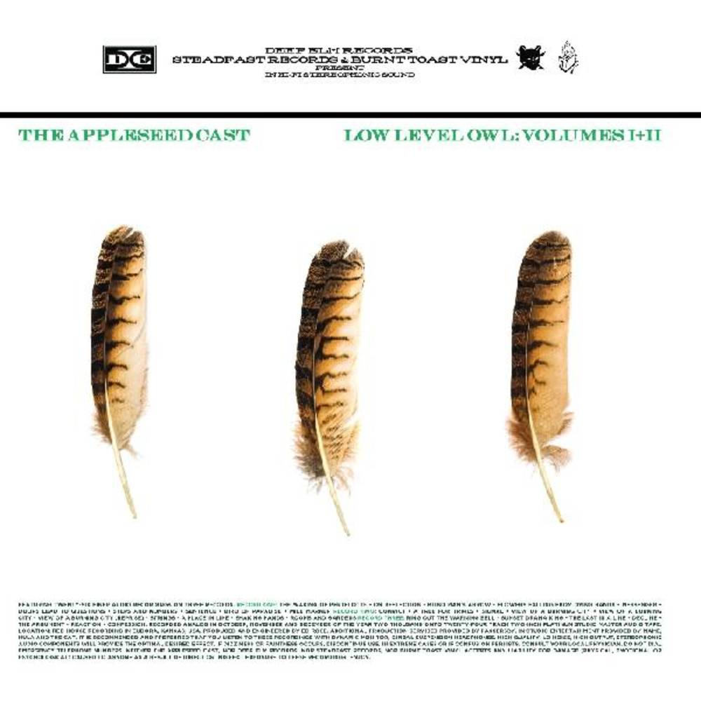 Appleseed Cast - Low Level Owl [Indie Exclusive Limited Edition White LP]