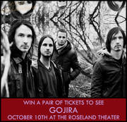 Gojira at the Roseland, 10/10