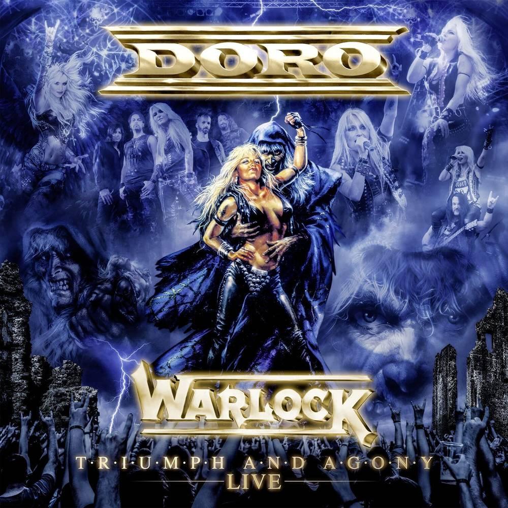 Doro - Warlock - Triumph & Agony Live [Marbled Black & White LP]