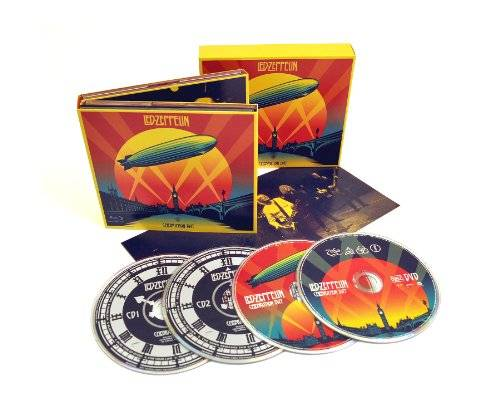 Celebration Day [Deluxe 2 CD, 1 Blu-Ray, 1 DVD, CD Sized Digipak]