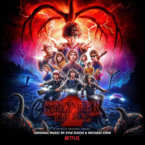 Stranger Things 2: A Netflix Original Series Soundtrack [Limited Edition Blue/Black Smoke 2LP]
