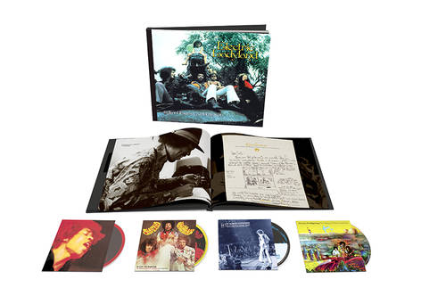 Electric Ladyland: 50th Anniversary Deluxe Edition [3CD + 1 Blu-Ray]