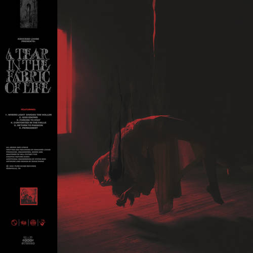 Knocked Loose - A Tear In The Fabric Of Life EP [Indie Exclusive Limited Edition Blood Red with Heavy Black Splatter Vinyl]