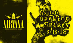 Nirvana Taking Punk To The Masses Exhibit Returns To MoPOP!
