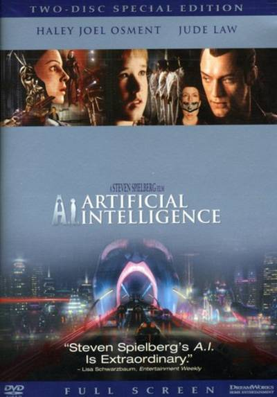 Osment/Law/Oconnor/Robards/Thomas/Hurt - A.I.-Artificial Intelligence