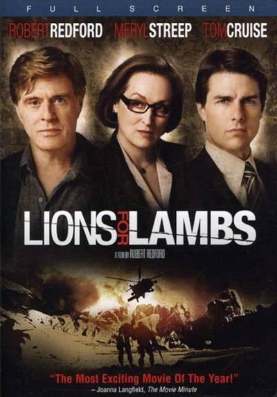 Cruise/Streep/Redford - Lions For Lambs