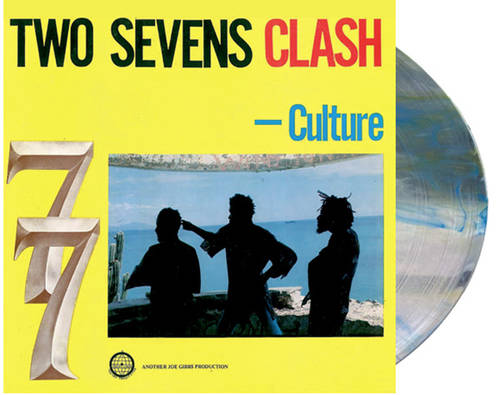 Culture - Two Sevens Clash [RSD Essential Clear w/ Blue & Yellow Smoke LP]
