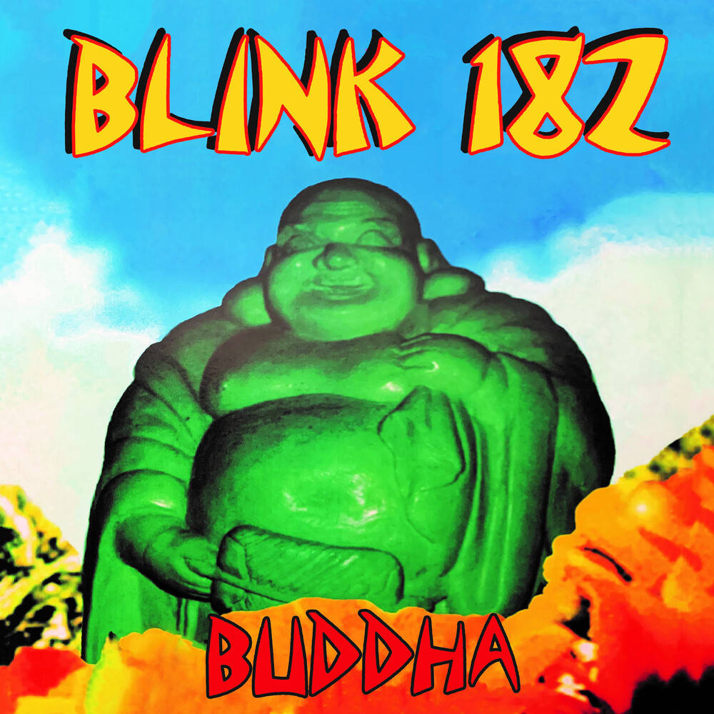 blink-182 - Buddha [Limited Edition Tri-Color LP]