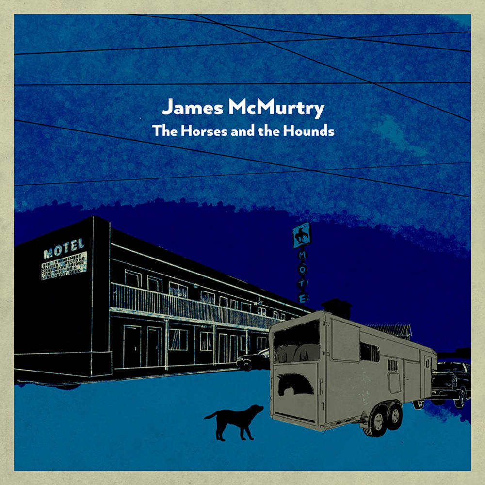James McMurtry - The Horses and the Hounds [Indie Exclusive Limited Edition Slate Grey 2LP]