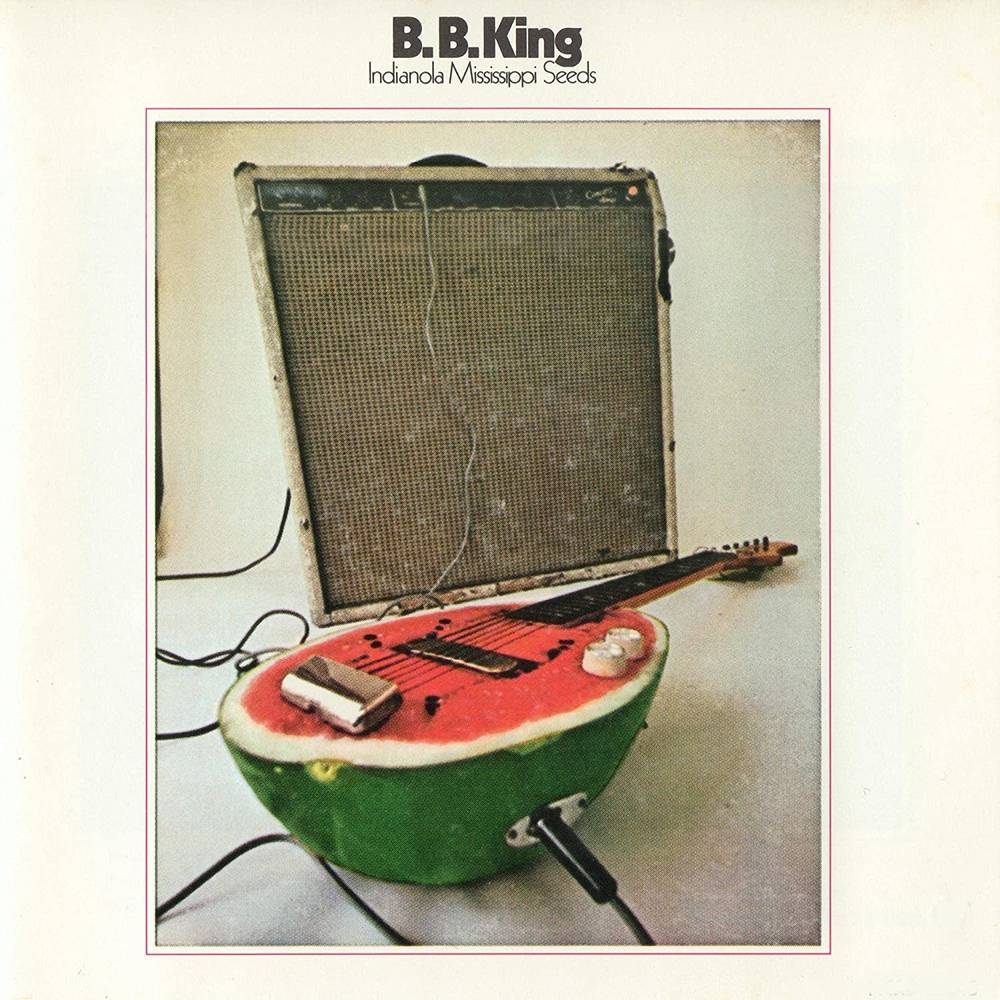 B.B. King - Indianola Mississippi Seeds [Translucent Red Audiophile Limited Anniversary Edition LP]