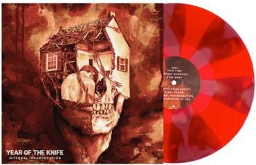 Internal Incarceration [Indie Exclusive Limited Edition Blood Red and Oxblood Pinwheel LP]