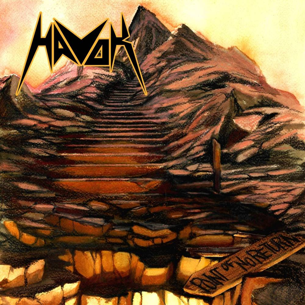 Havok - Point Of No Return EP [Limited Edition Translucent Brown w/ Yellow Spatter LP]