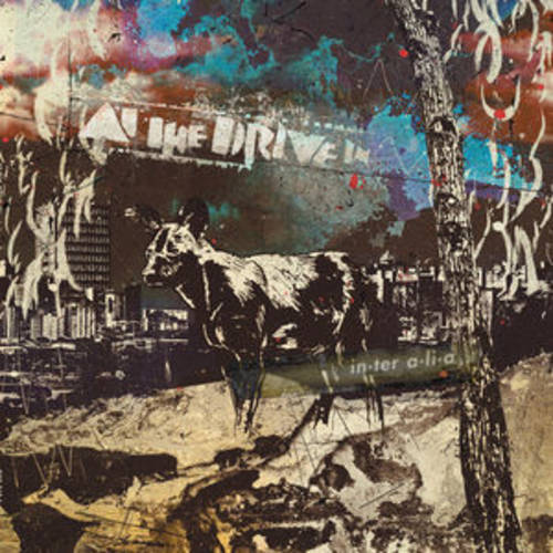 At The Drive In - in•ter a•li•a [Indie Exclusive Deep Purple w/ Grimace Splatter Vinyl]