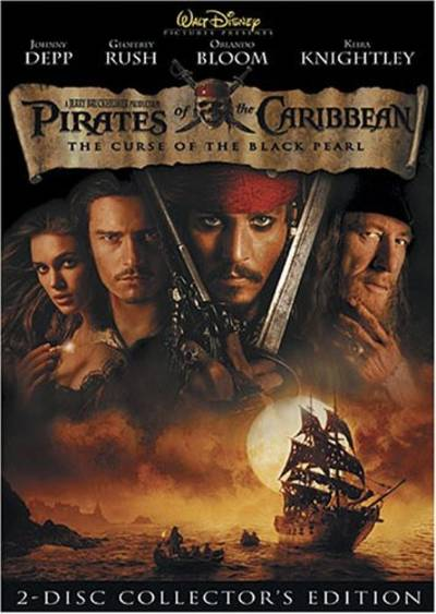 Depp/Rush/Bloom/Knightley - Pirates Of The Caribbean-Curse Of The Black Pearl