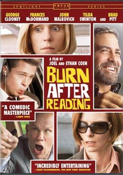 - Burn After Reading