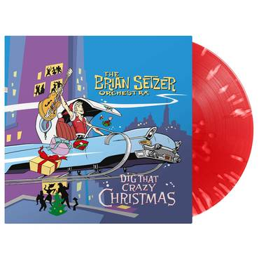 Dig That Crazy Christmas [Red & White Splatter LP]