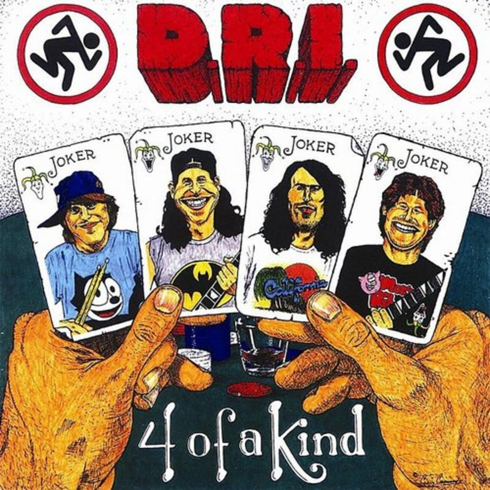 D.R.I. - Four Of A Kind [Limited Edition Green LP]