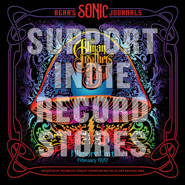 Bear's Sonic Journals: Fillmore East. Feburary 1970 [RSD 2019]