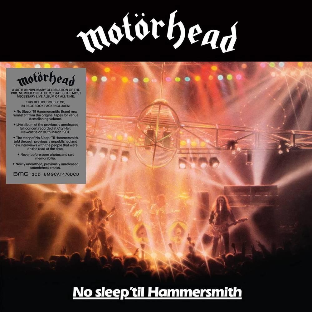 Motorhead - No Sleep 'til Hammersmith: 40th Anniversary Edition [2CD]