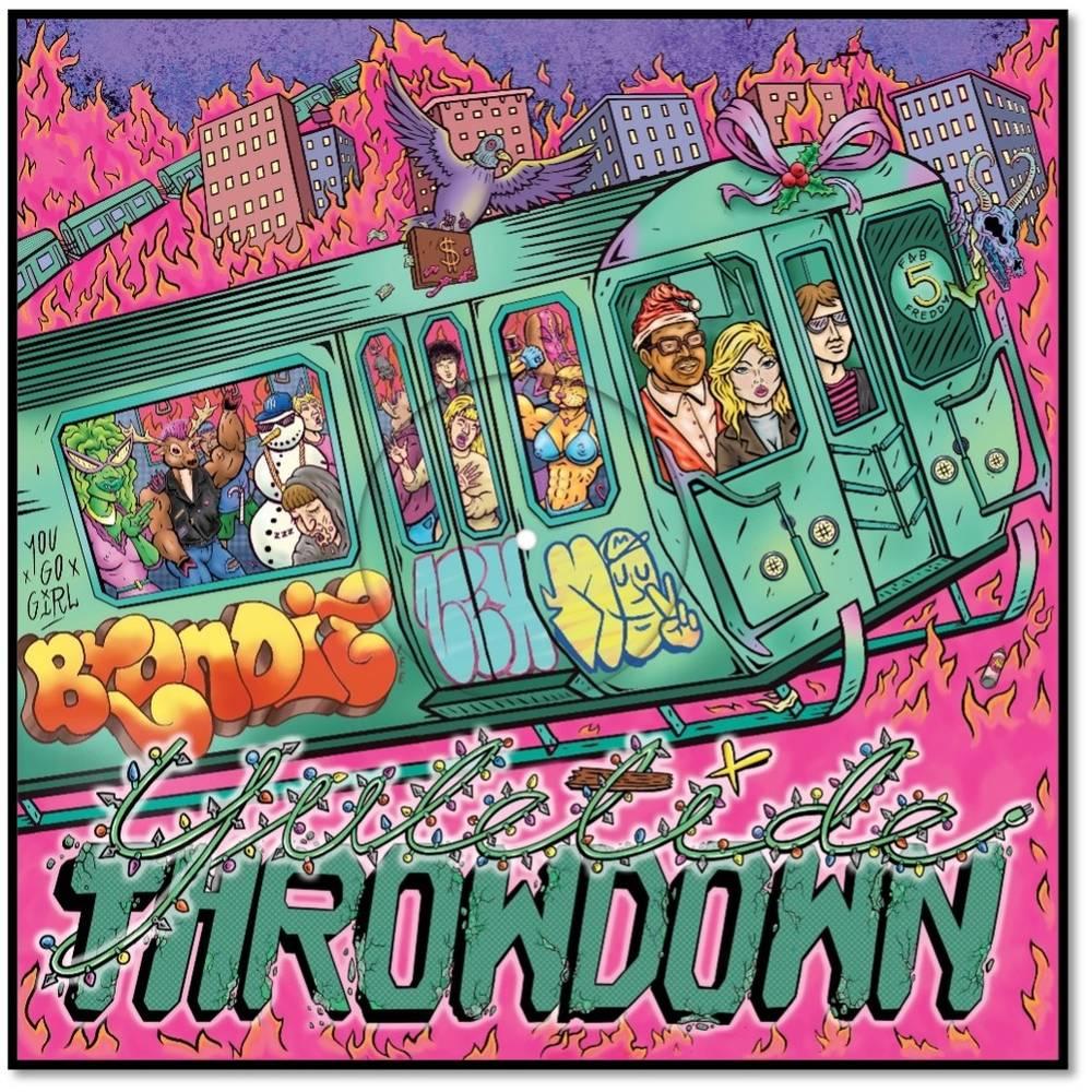 Blondie - Yuletide Throwdown [Indie Exclusive Limited Edition Hot Pink 12in Single]