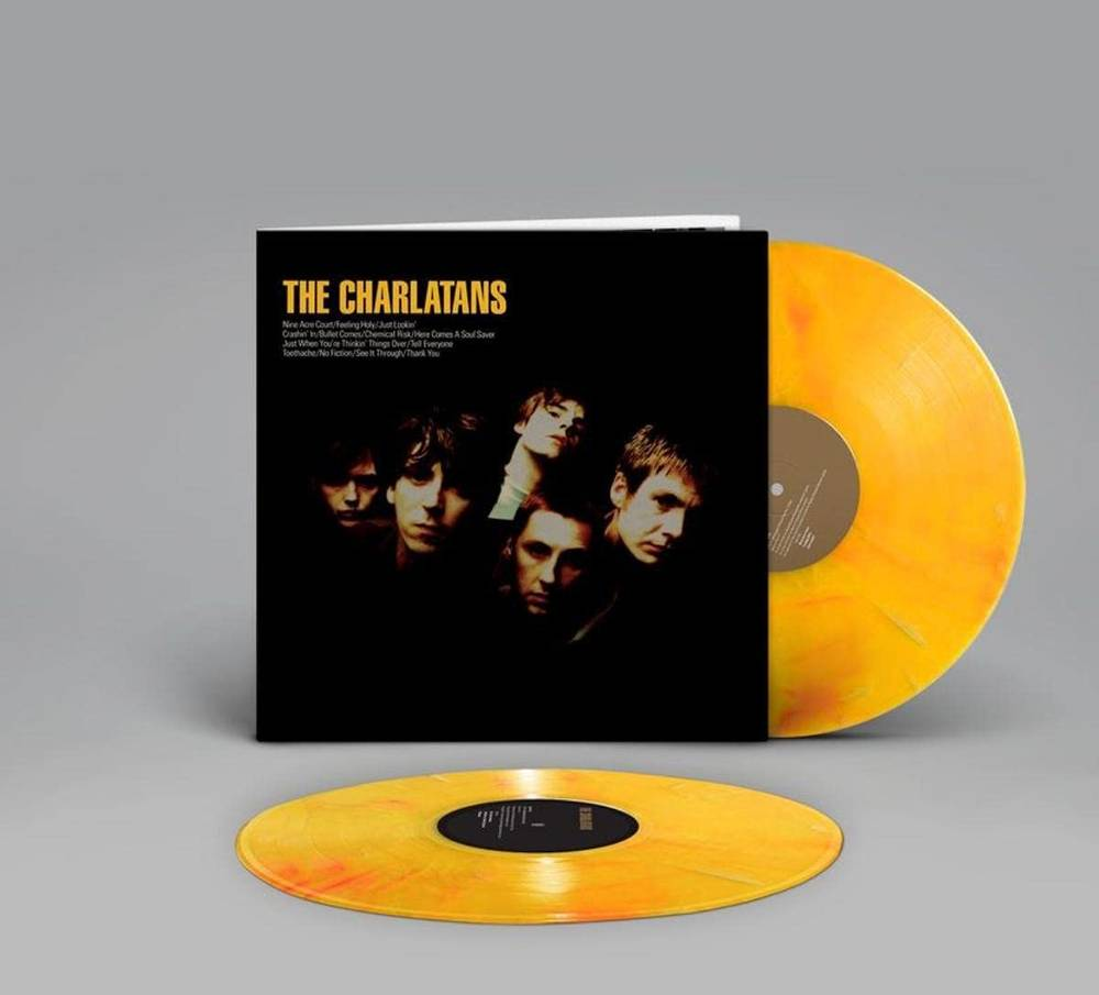 The Charlatans UK - The Charlatans [Marbled Yellow 2LP]