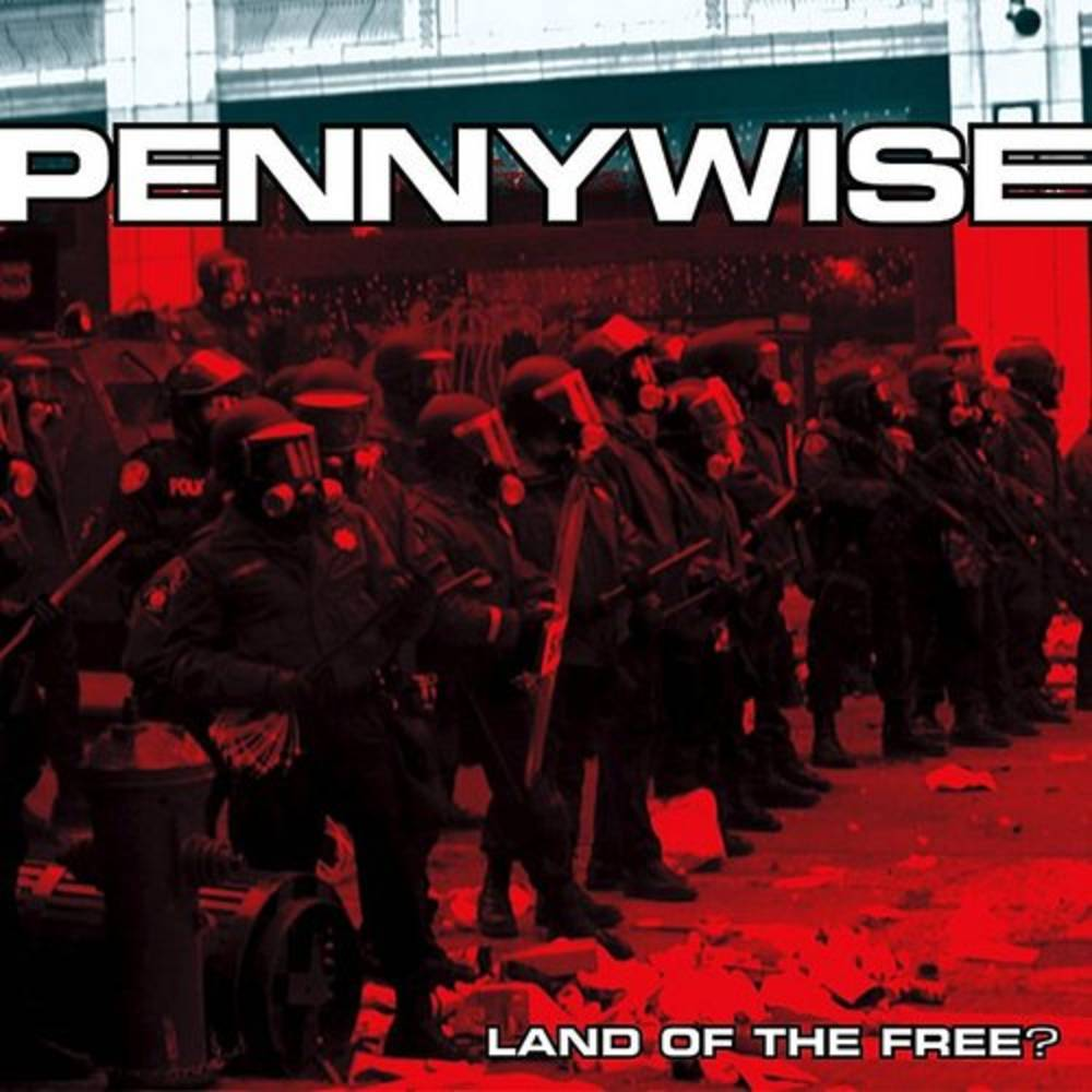 Pennywise - Land Of The Free [Red LP]