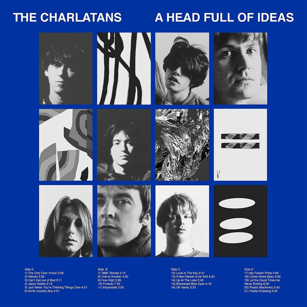 The Charlatans UK - A Head Full of Ideas [Import Deluxe 2CD]