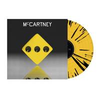 Paul McCartney - McCartney III: 3333 Edition [Indie Exclusive Limited Edition Yellow/Black Splatter LP]