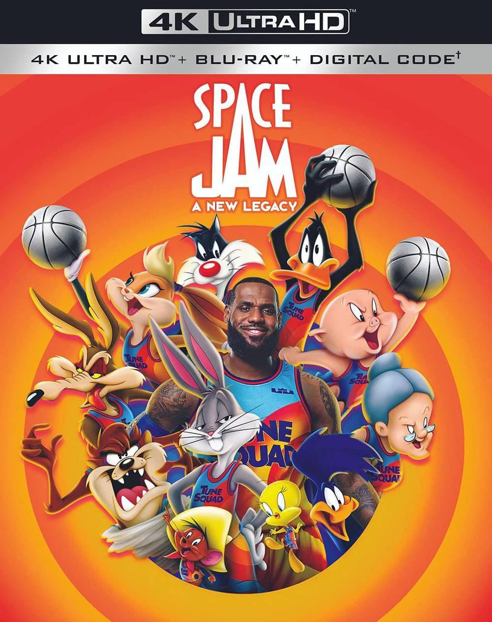 Space Jam [Movie] - Space Jam: A New Legacy [4K]