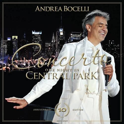 Andrea Bocelli - Concerto: One Night In Central Park - 10th Anniversary [Blu-ray]